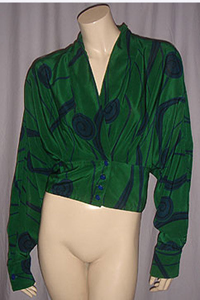 1980s Gianni Versace Blouse