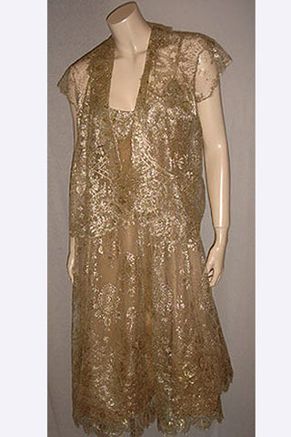 1960s Pauline Trigere Couture Dress