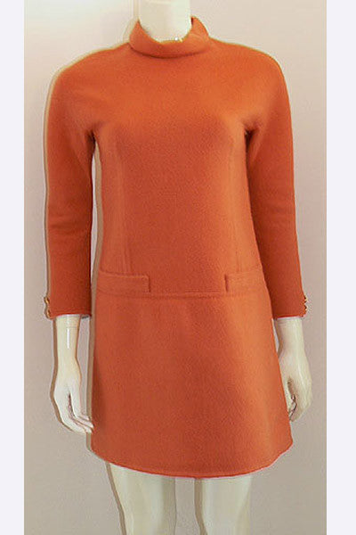 1960s Valentino Couture Mini Dress