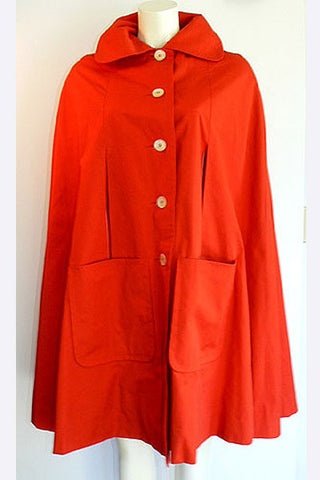 1960s Donald Brooks Cape