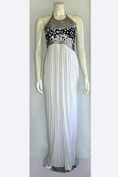 1990s Geoffrey Beene Evening Dress