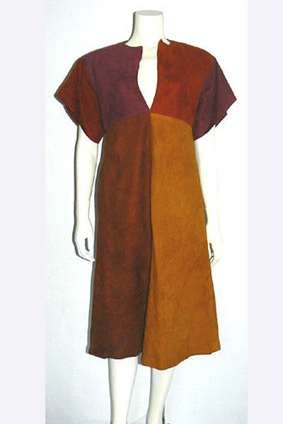 1960s Bonnie Cashin Color Block Dress