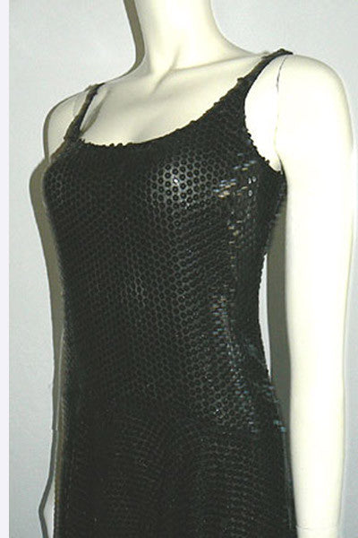 1970s Halston Sequin Dress