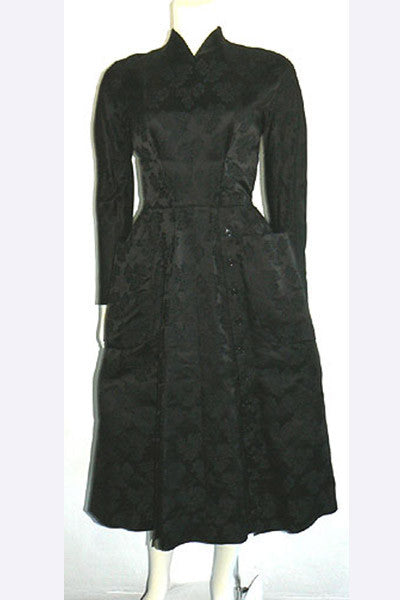 1950s Jacques Fath New Look Dress
