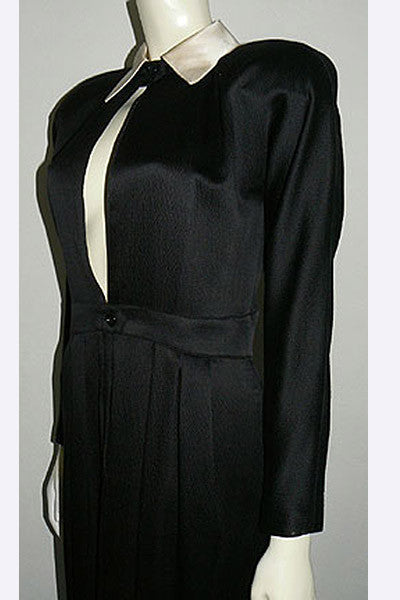 1980s Geoffrey Beene Evening Dress