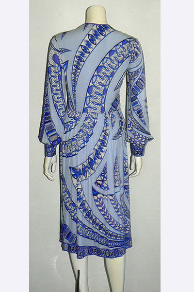1960s Emilio Pucci Silk Dress