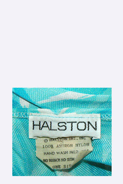 1970s Halston Swim Wrap - Pareo