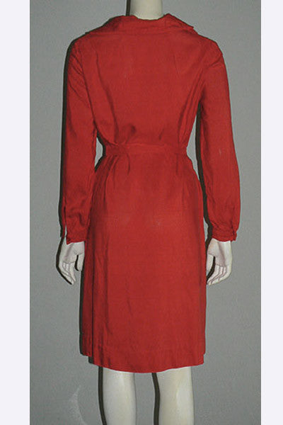 1970s Halston Silk Dress