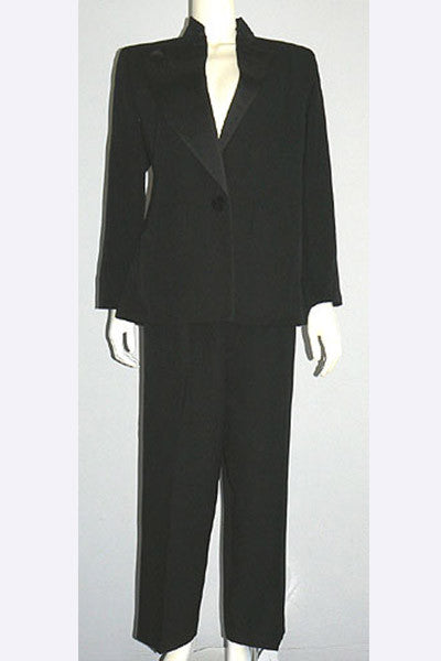 1980s Yves Saint Laurent Le Smoking Tuxedo