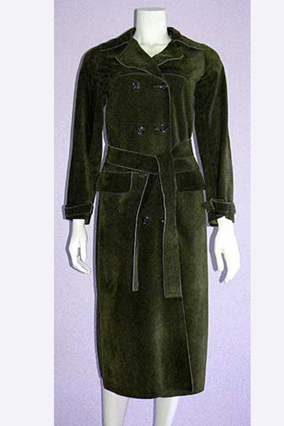 1970s Yves Saint Laurent Suede Coat
