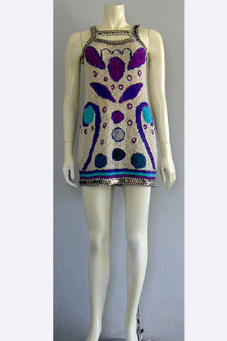 1960s Paco Rabanne Mini Dress