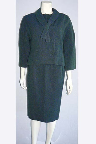 1960s Sybil Connolly Tweed Suit