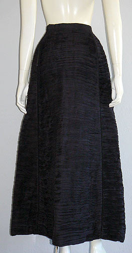 1950s Sybil Connolly Pleated Skirt