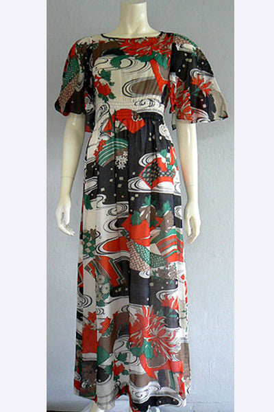 1960s Hanae Mori Dress