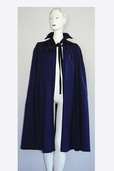 1970s Yves Saint Laurent Cashmere Cape
