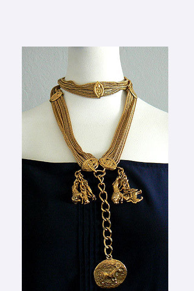 1960s Chanel - Goossens Gold Belt