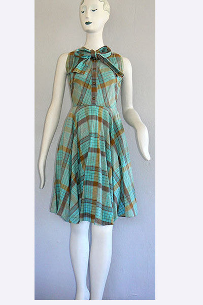 1950s Claire McCardell Sundress