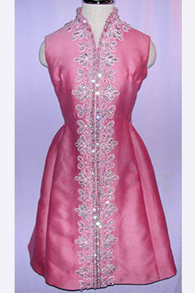 1960s Zandra Rhodes Beaded Dress