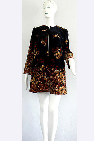 "1970s Valentino ""Nutty"" Velvet Coat"