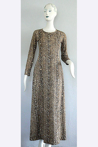 1970s Diane Von Furstenberg Long Dress