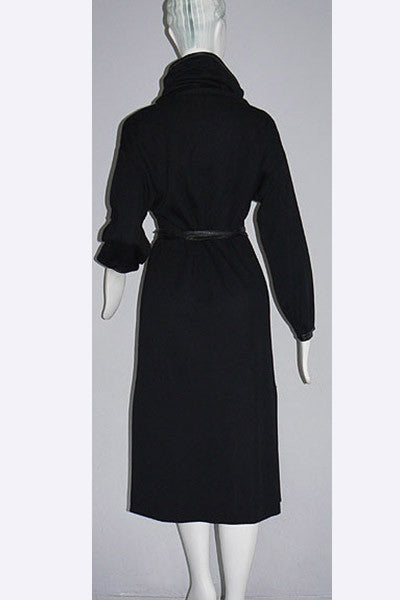 "1960s Bonnie Cashin ""Beatnik"" Wool Dress"