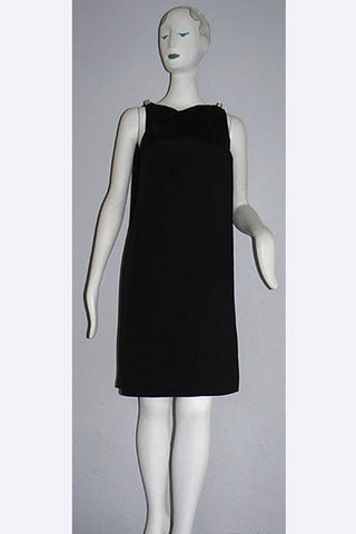 1960s Bill Blass - Maurice Renter Little Black Dress