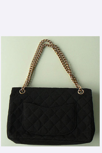 1960s Coco Chanel 2.55 Quilted Wool Handbag – Swank Vintage 7d10b34e18d98