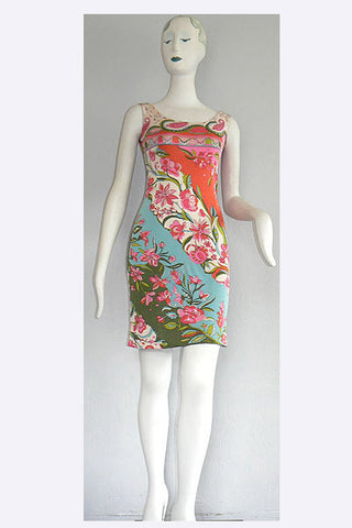 1960s Pucci Silk Jersey Dress