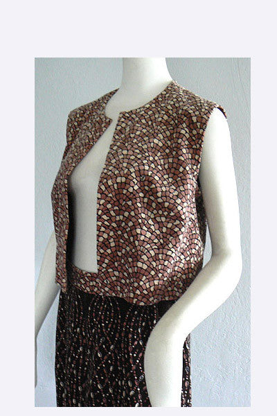 1970s Pucci Vest and Skirt Ensemble
