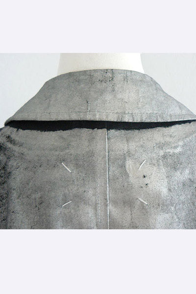 2000 Martin Margiela Painted Raincoat