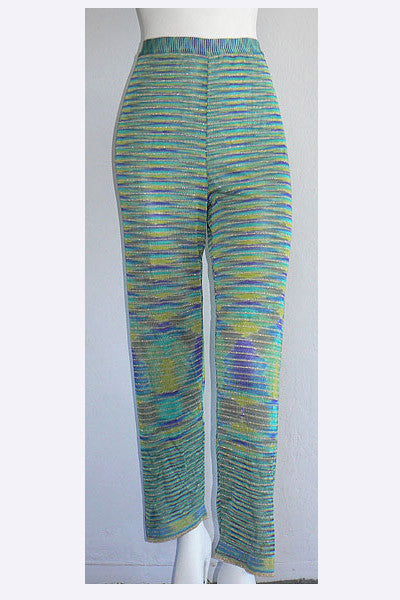 1970s Missoni Space Dyed Lurex Pants