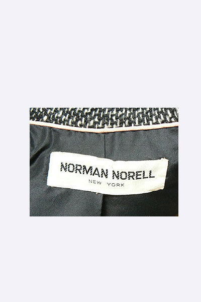 1960s Norman Norell Tweed Suit