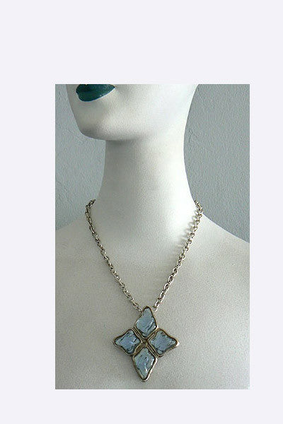 2c276d65fd6 1970s Yves Saint Laurent Necklace – Swank Vintage