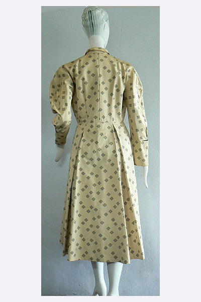 1910s Silk Walking Coat