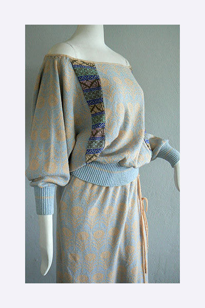 1970s Bill Gibb 3 Piece Ensemble