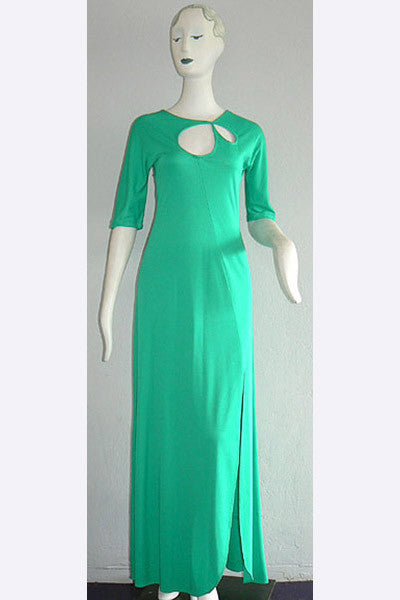 1960s Stephen Burrows Cut Out Dress