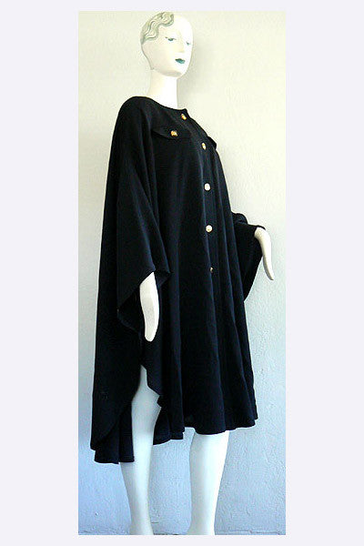 1980s Louis Feraud Cape