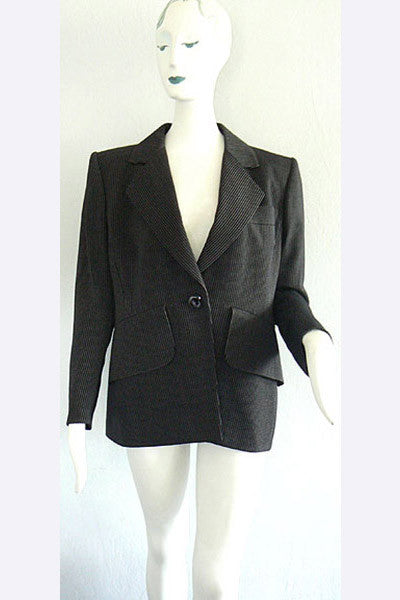 1980s Yves Saint Laurent Couture Jacket