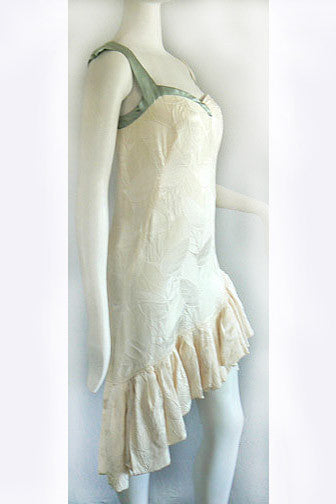 1960s Flapper Style Couture Dress