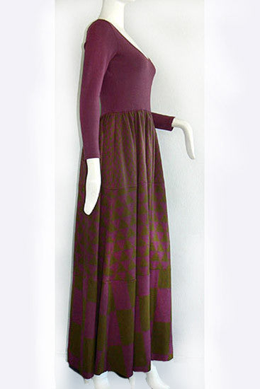 1960s Rudi Gernreich Geometric Dress
