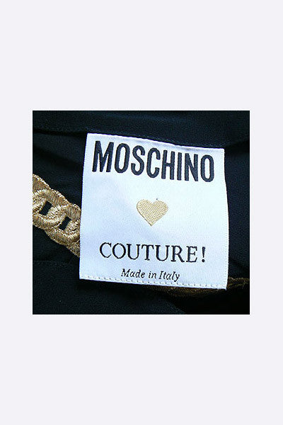 1990s Moschino Cartoon Couture Ensemble