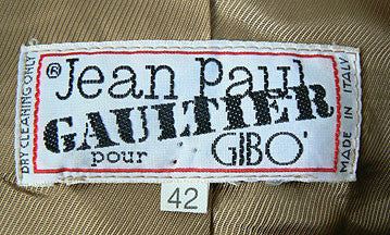 1980s Jean Paul Gaultier for GIBO jacket
