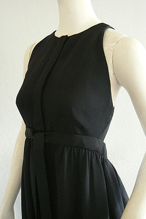 1960s Geoffrey Beene Backless Dress