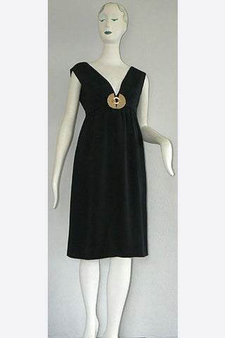 1960s Bill Blass Jeweled Dress