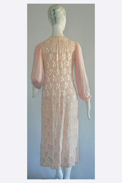 1910s Edwardian Nightgown