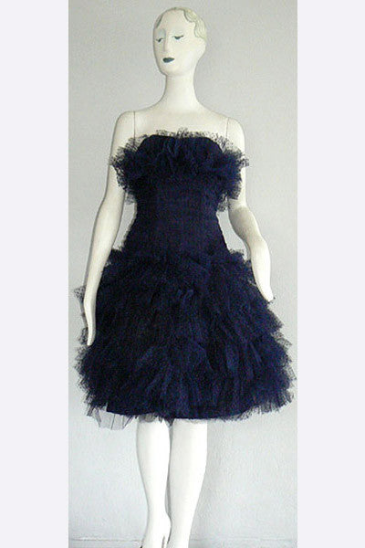 1950s Jean DessesCocktail Dress
