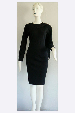 1980s Gucci Wool Dress