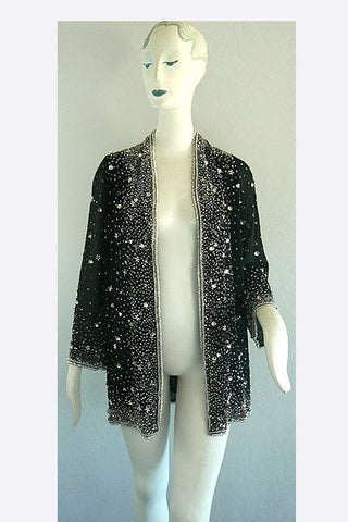 1970s Halston Beaded Jacket