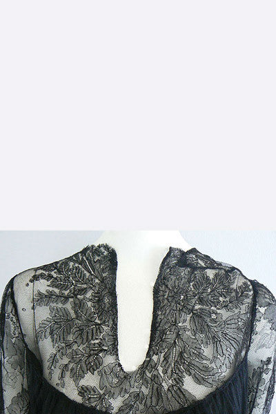1970s Blouse made of Victorian Lace