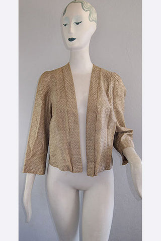 1940s Fortuny Jacket
